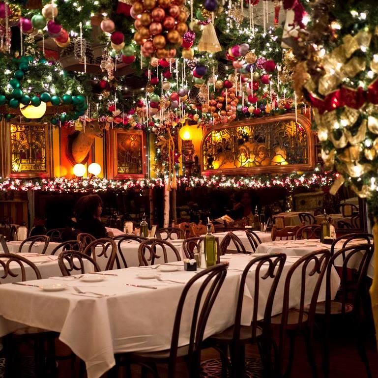Święta w restauracji Nowy Jork
