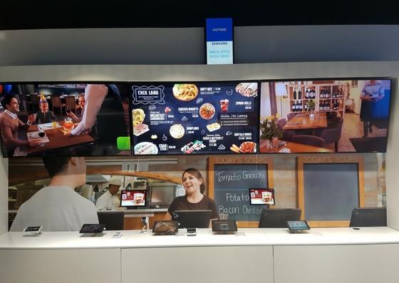 POSbistro Samsung Showroom